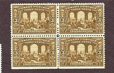 CANADA #135 VF MH BLOCK (JULY28