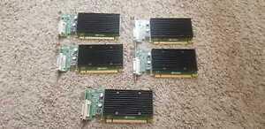 HP NVIDIA QUADRO NVS 300 PCI-E 16X 512MB . Lot of 5