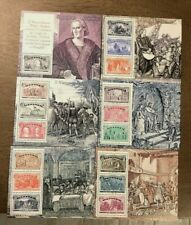 Italy 1992 Voyages of Columbus Set of 6 Mint MNH Miniature Sheets