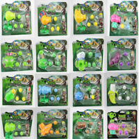Game Action Figure Plants VS Zombies PVZ Pea Shooter & Zombie Toy Set Kids