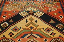 Circa 1910s ANTIQUE RARE CAUCASIAN PRAYER KILIM 5.2x11.3 VERY RARE SIZE PRAYER