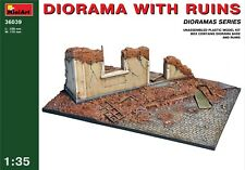 Miniart 36039 1:35th Escala Diorama Con Ruinas
