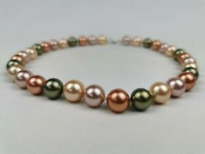 Genuine Honora pearls. 18inch with 925 silver clasp. NEW - Never worn