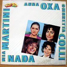 AA.VV. ANNA OXA MIA MARTINI NADA OMBRETTA COLLI LP GATEFOLD + INSERTO