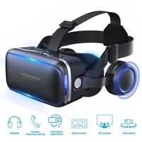 """Virtual Reality Headset 360° VR Goggles for iPhone Android Smartphones 4.5 to 6"""""""