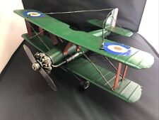 Metal Tin Plate Model - RAF  fighter Plane
