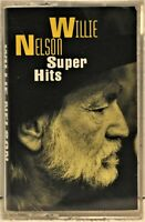 "WILLIE NELSON ""Super Hits""  Cassette  Columbia CT64184"