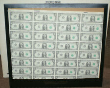 1988 LA 32 Subject $1 Dollar Bills Federal Reserve Notes FRN Currency Sheet