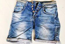 Shorts Jeans shorts kurze Hose  Hot Pants Gr. 36 Denim bestickt PLACE DU JOUR