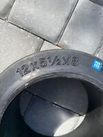 """NEW SoliDeal 12x5 1/2x8  Smooth Solid Press-On Forklift Tire 12"""" x 5.5"""" x 8"""""""