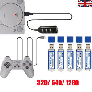 128G True Blue Mini Fight/Meth/Crackhead Pack for PlayStation Classic Games