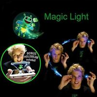 LED Magic Light Up Thumb Fingers 3D Hologram Small Bee Trick Appearing Lights
