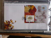 GUERNSEY 1994 PHILAKOREA £1 O/PRINTED MINI SHEET FDC FIRST DAY COVER