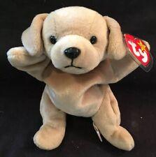 Ty Brown Fetch Dog Beanie Baby 1998