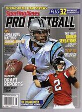 2013 SPORTING NEWS PRO FOOTBALL YEARBOOK-CAM NEWTON-MATT RYAN-PANTHERS-FALCONS