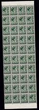 1950 KING GEORGE VI 1 1/2d BLOCK 40 PRE-DECIMAL STAMPS FRESH MUH #G16