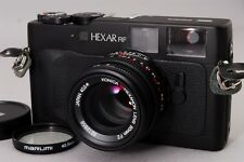 MINT  KONICA HEXAR RF Rangefinder w/ M-HEXANON 50mm f2 Lens from Japan 1125