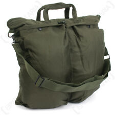 US Helmet Bag with Carrying Strap - Olive Drab Padded Pouch Shoulder Strap NEW