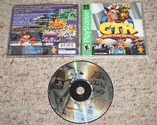 Crash Team Racing GH Greatest Hits (Sony Playstation 1 ps1) Complete