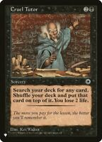 Cruel Tutor - The List x1 Magic the Gathering 1x The List mtg card