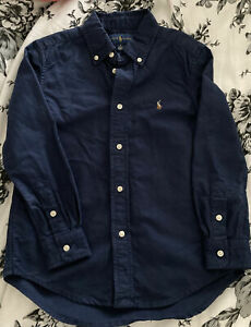 Genuine Ralph Lauren Shirt Navy Age 6