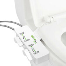 Non-Electric Ultra thin Bidet Hot & Cold Water Pressure Control Self Cleaning