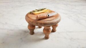 Mud Pie E1 Kitchen & Cooking Pine Wood Trivet 4.5x8in & Spreader 40000014
