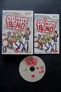 WII : ULTIMATE BAND - Completo, ITA ! Compatibile Wii U