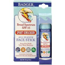 Badger Broad Spectrum SPF 35 Face Stick 0.65 oz