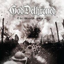 GOD DETHRONED - THE WORLD'S ABLAZE   CD NEW+