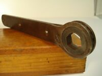 """Vintage Unbranded 11/16"""" Ratcheting Box End Wrench Tool"""