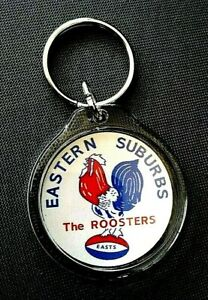 ''EASTERN SUBURBS ROOSTER'' KEY RING NRL SYDNEY CITY EASTS RUGBY LEAGUE KEYRING