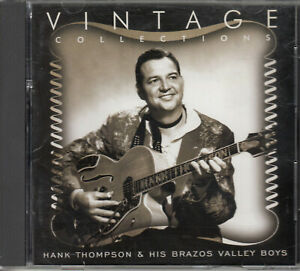 Hank Thompson & His Brazos Valley Boys: Vintage Collections (1 CD, 1996)