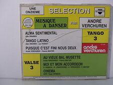 CD ALBUM Musique a danser ANDRE VERCHUREN Tango 3 PRESENCE CD 686 MUSETTE