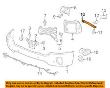 GM OEM Front Bumper-Support Brace Left 22757267