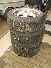 4 x Ronal Alufelgen ET35 7Jx15H2 KBA 95705 LK: 4x100 passen VW Golf 3 & Passat!!