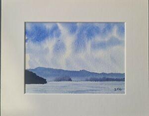 Windermere . Lake District Original Watercolour Painting