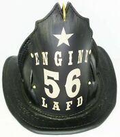 High Eagle Leather Fire Helmet Chief Engineer FDNY (rustic black finish)