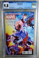 Marvel Point One #1 1st New Nova Alexander 2012 CGC 9.8 NM/MT WP Comic N0103