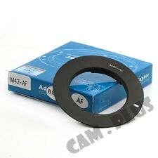AF Confirm M42 Mount Lens To Sony Alpha Adapter For A500 A200 A900 A230 A330