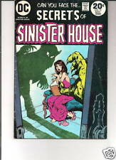 SECRETS OF SINISTER HOUSE #15 1973 DC REDONDO/a