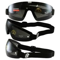 3 SETS BIRDZ WING SKYDIVE SKY DIVING GOGGLES PARAGLIDING UV400 SMOKE