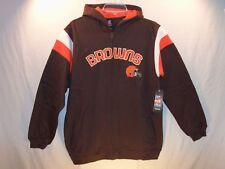 Cleveland Browns NFL Hoodie RBK (Zips in Front) Youth X-Large (18/20) NEW