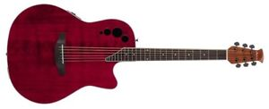 Ovation Applause Elite AE44II-RR, Ruby Red