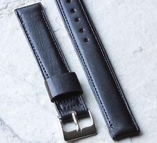 Long Length padded 16mm vintage watch band fine Norwegian Calfskin 1950s/60s NOS