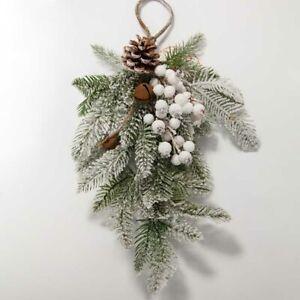 Christmas Door Wreath Festive Wreath Holiday Wreath 5 Designs Festive Decor