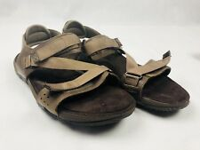 Merrell Sandals Dark Earth  Size US 13 Open Toe Straps Casual Brown Summer EUC