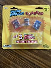 TOPPS WACKY PACKAGES ERASERS BLISTER PACK SEALED