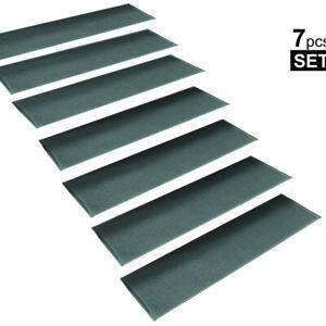 Stepbasic Non-Slip Rubber Backing Resistant Carpet Stair Gripper Set Of 7