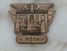 2014 98th Indianapolis Indy 500 Bronze Badge Ryan Hunter-Reay Winner